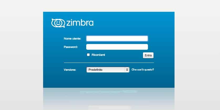 Webmail Zimbra Copasa