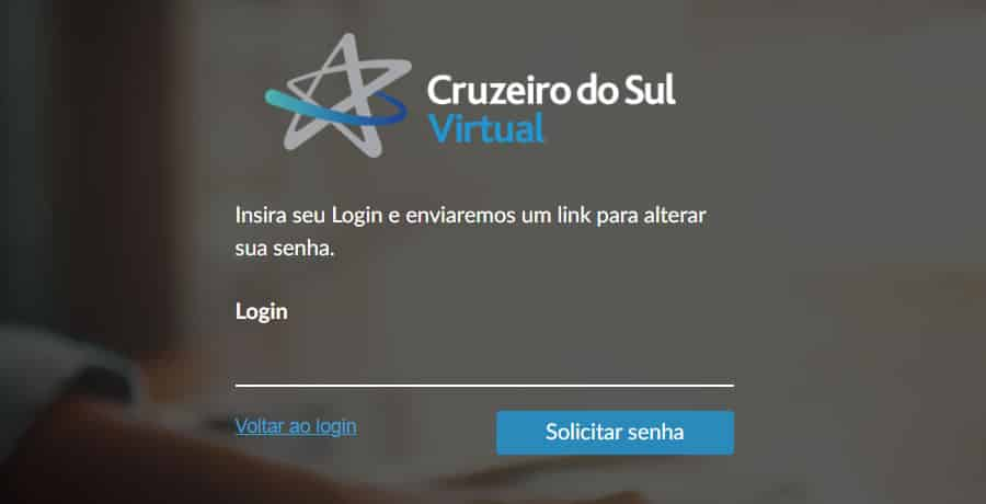 login Canvas Cruzeiro do Sul