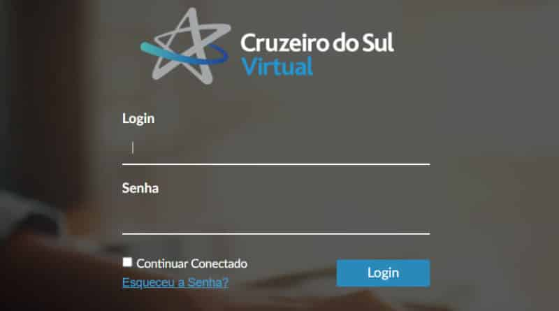 Acessar login Canvas Cruzeiro do Sul